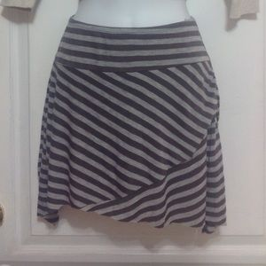 GARAGE Grey Mini Skirt